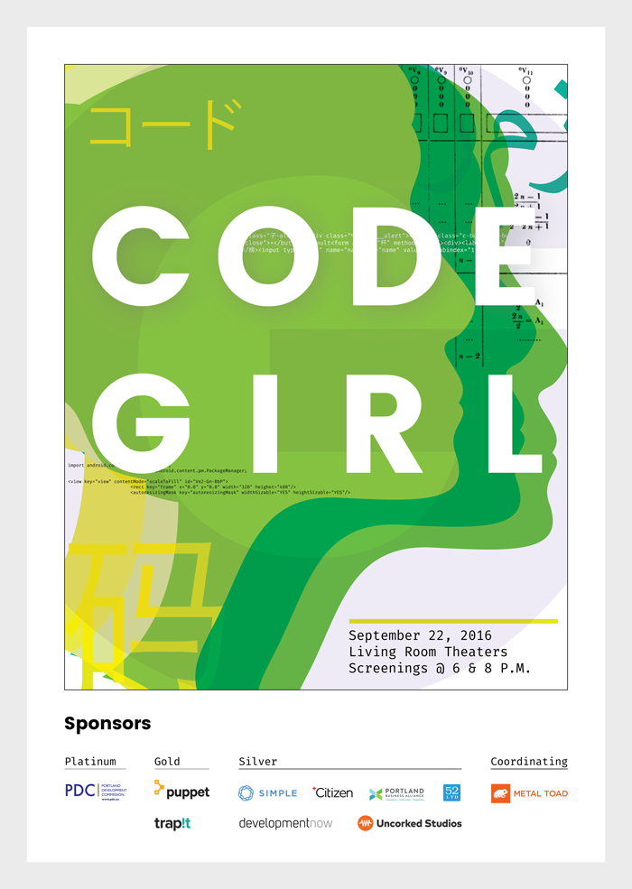 Image of Code Girl poster